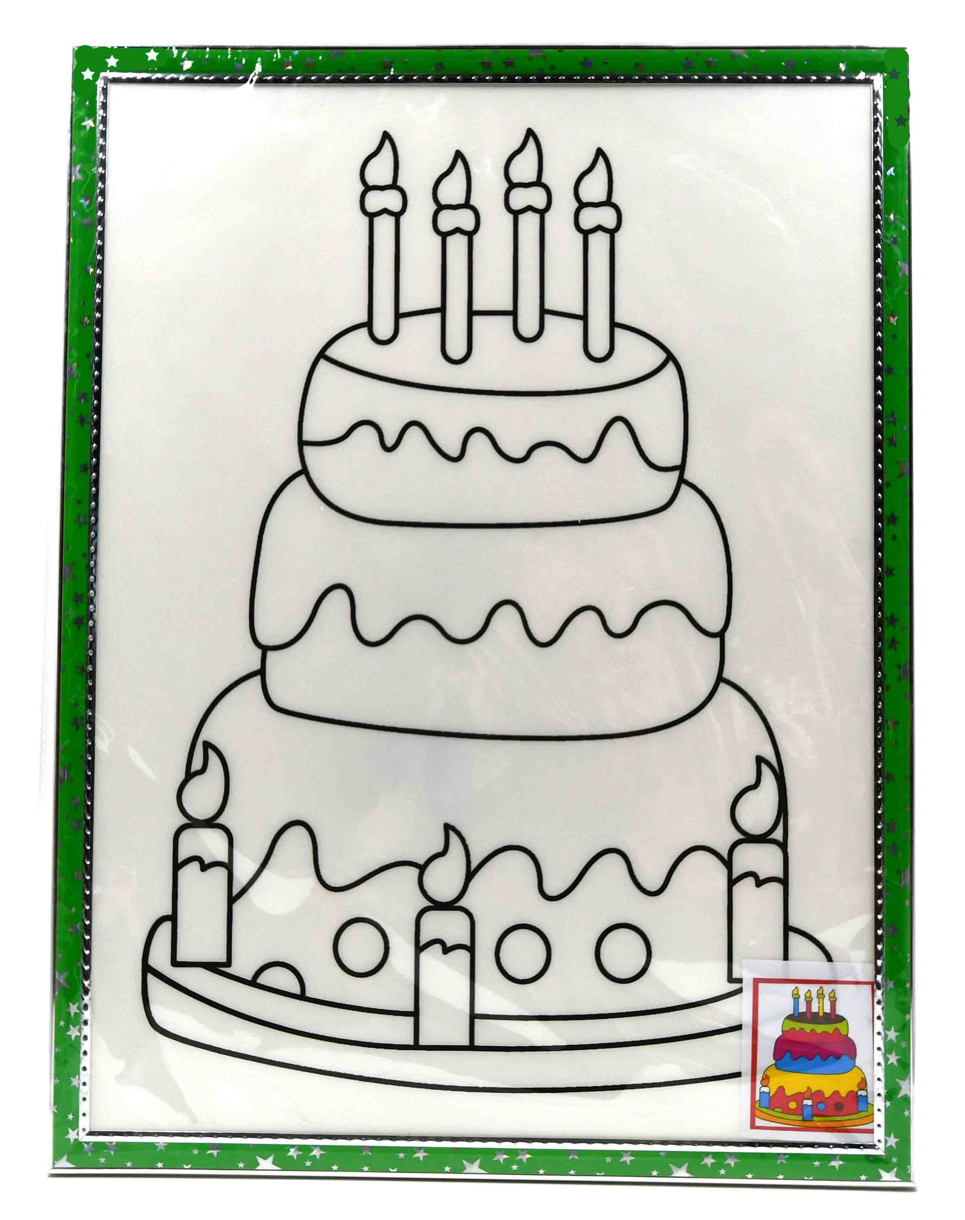 Styrofoam Frame Craft 30x40 - Birthday Cake.jpg