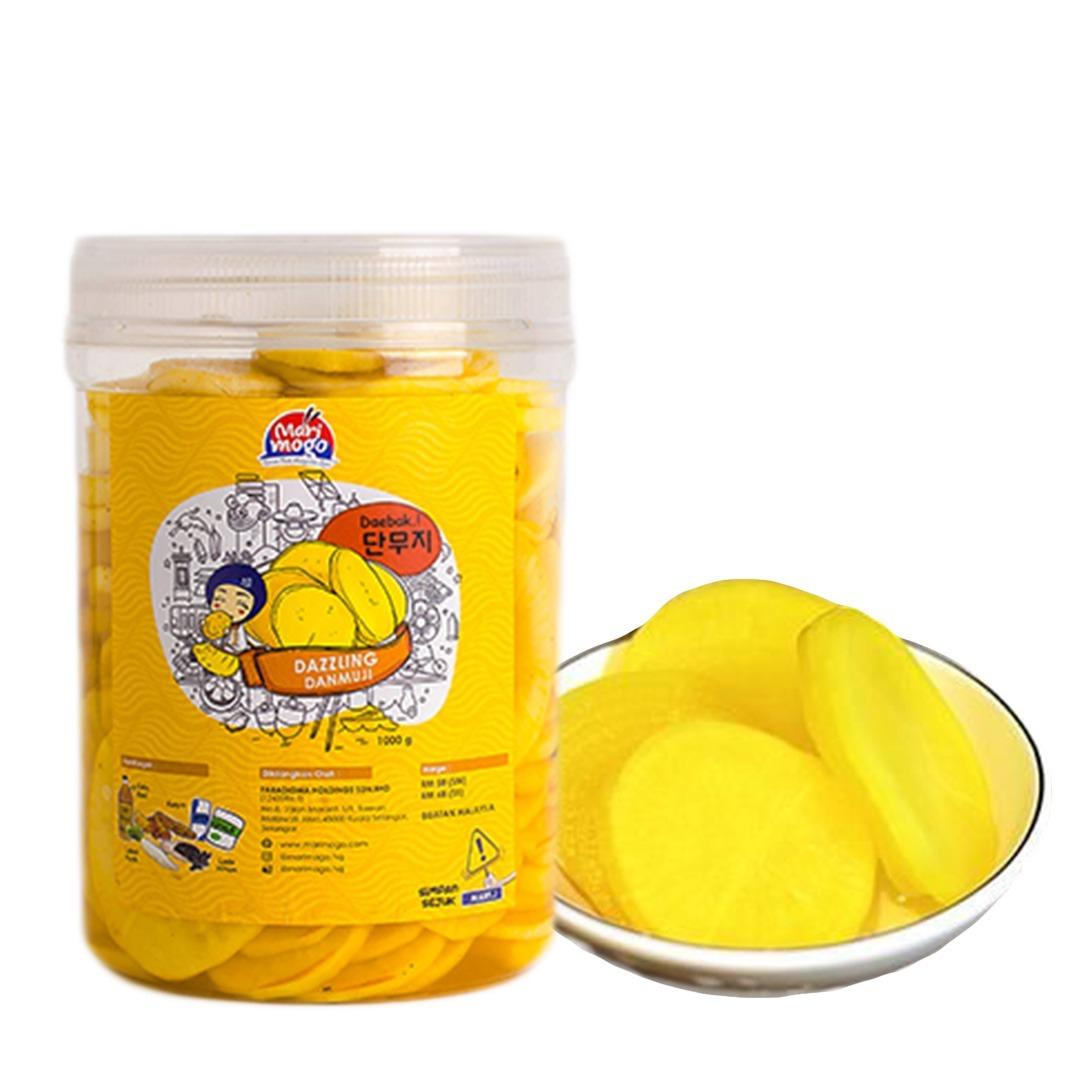 MariMogo Dazzling Danmuji Jumbo Pickled Yellow Radish Korean Side Dish.jpeg