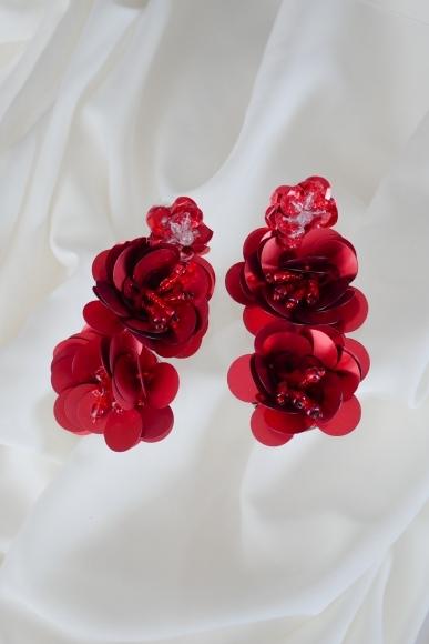 flutter-earrings-red
