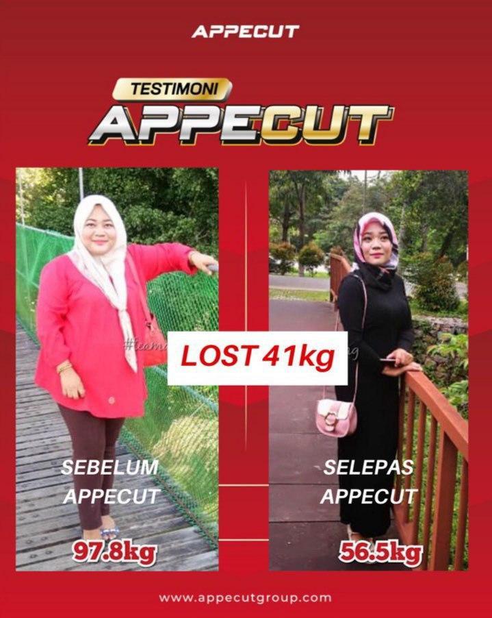 APPECUT SHOP - LOST 41kg