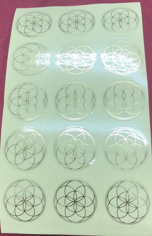 生命種子能量貼紙(金)(3公分).jpg