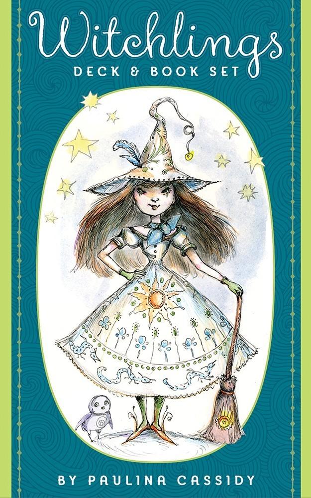 女巫魔法咒語卡:Witchlings Deck & Book Set.jpg