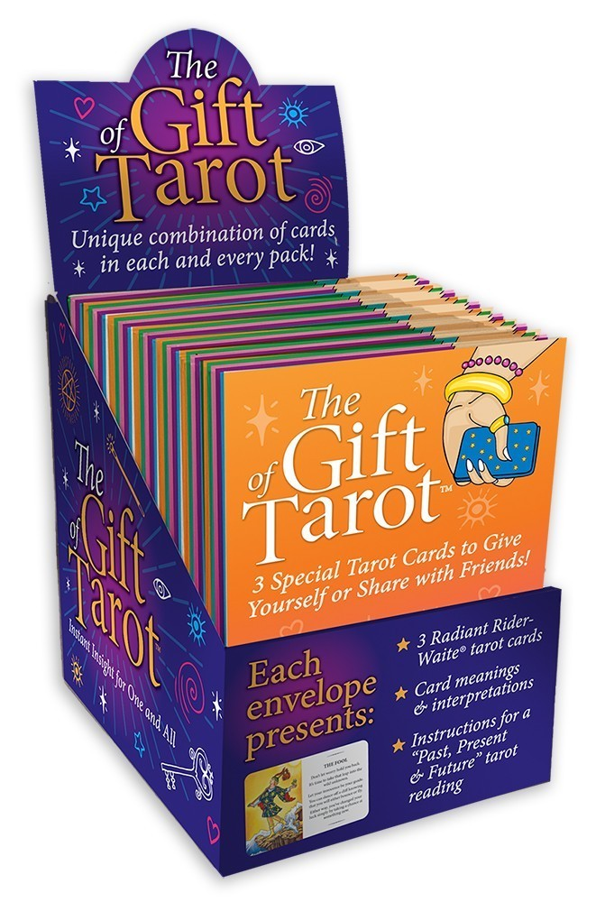 50封塔羅占卜訊息展示組:The Gift of Tarot 50-piece Display.jpg