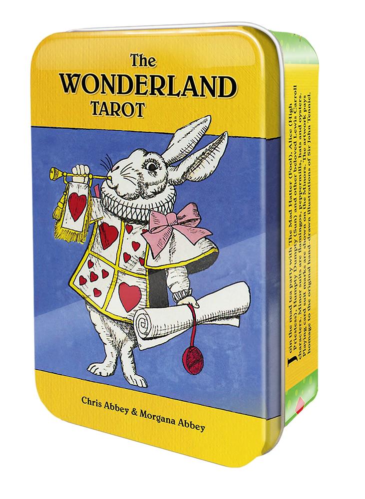 愛麗絲夢遊仙境塔羅錫鐵盒版:The Wonderland Tarot in a Tin.png