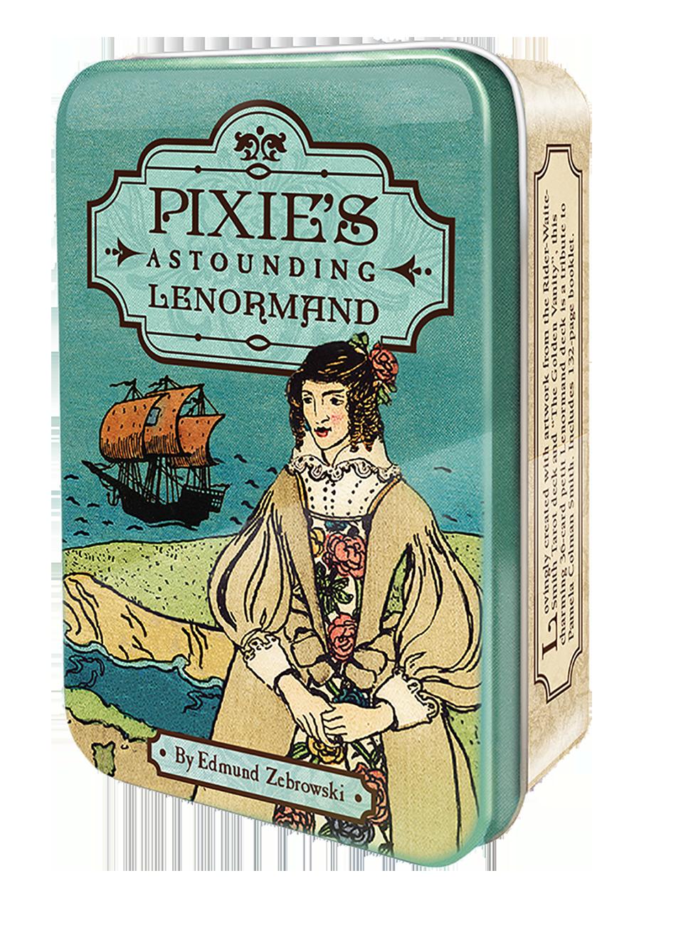 袖珍偉特風雷諾曼(錫鐵盒):Pixie's Astounding Lenormand.png