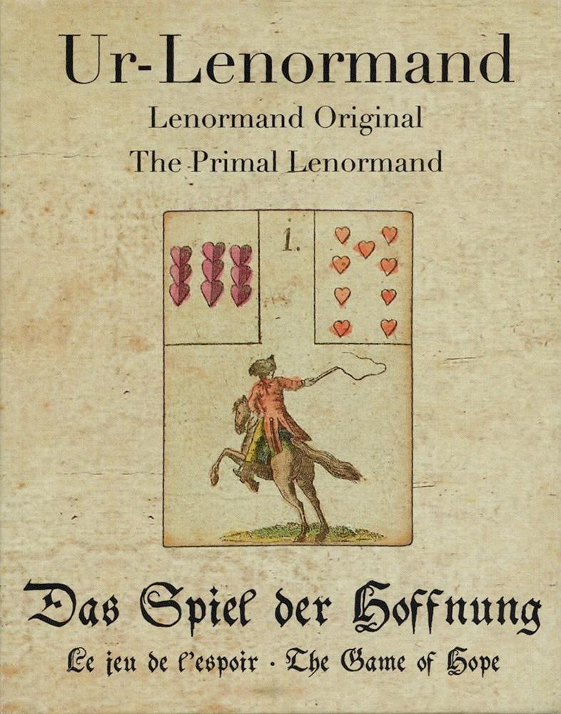 原始版雷諾曼-希望遊戲:Primal Lenormand -The Game of Hope.jpg