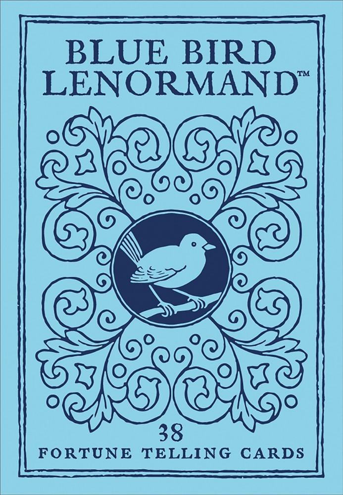 青鳥雷諾曼:Blue Bird Lenormand.jpg