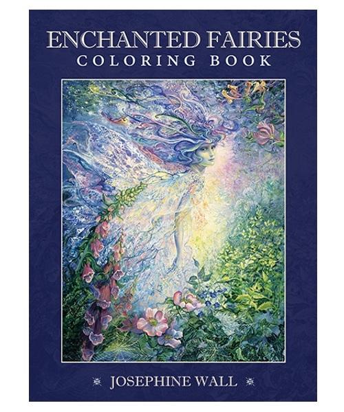 約瑟芬•沃爾魔法仙子著色書:Enchanted Fairies Coloring Book.jpg
