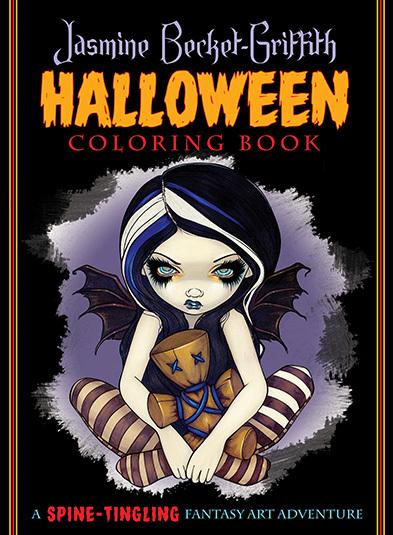潔絲敏.葛里芬萬聖節著色彩繪本:Jasmine Becket-Griffith Halloween Coloring Book.jpg