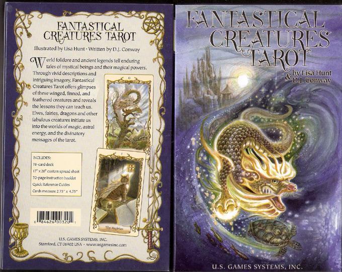 神秘生物塔羅牌Fantastical Creatures Tarot.jpg