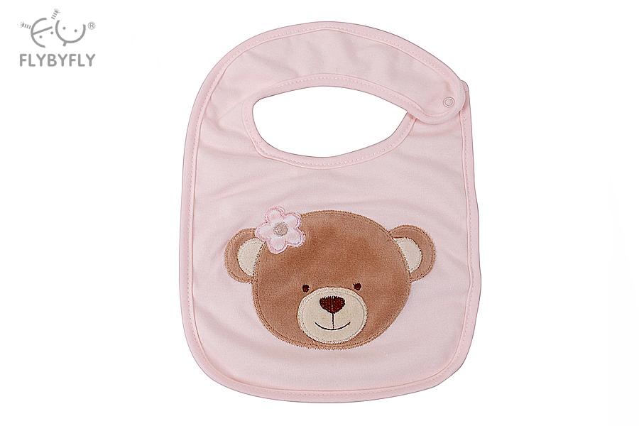 3D Bear Baby Bib (Pink).jpg