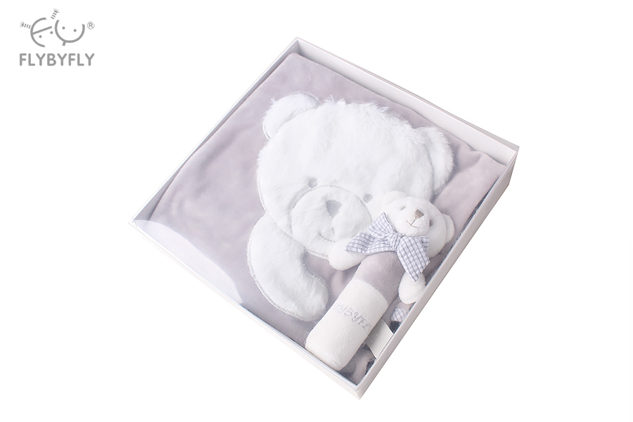 Popo Bear Blanket and Rattle Set (Grey) 2.jpg