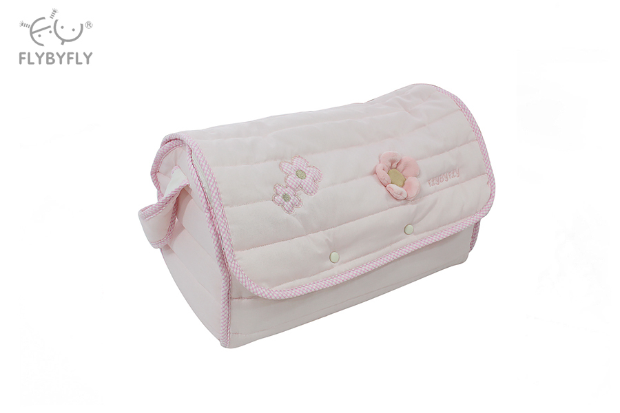 Multifunctional Travel Bag with Changing Pad (Pink).jpg