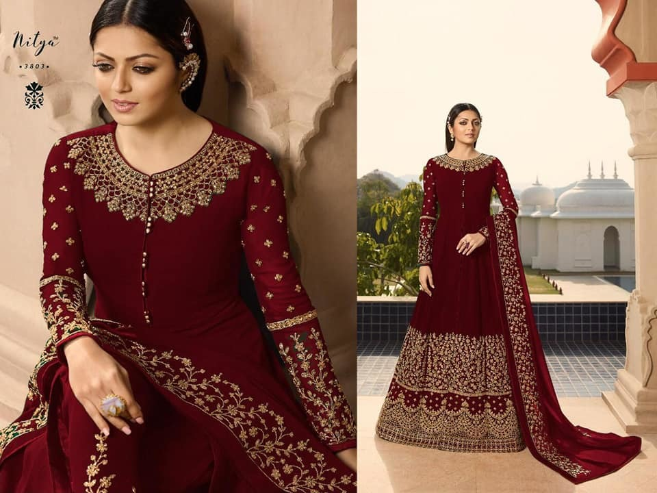 Anarkali Suits Lt 3803 - Maroon.jpg