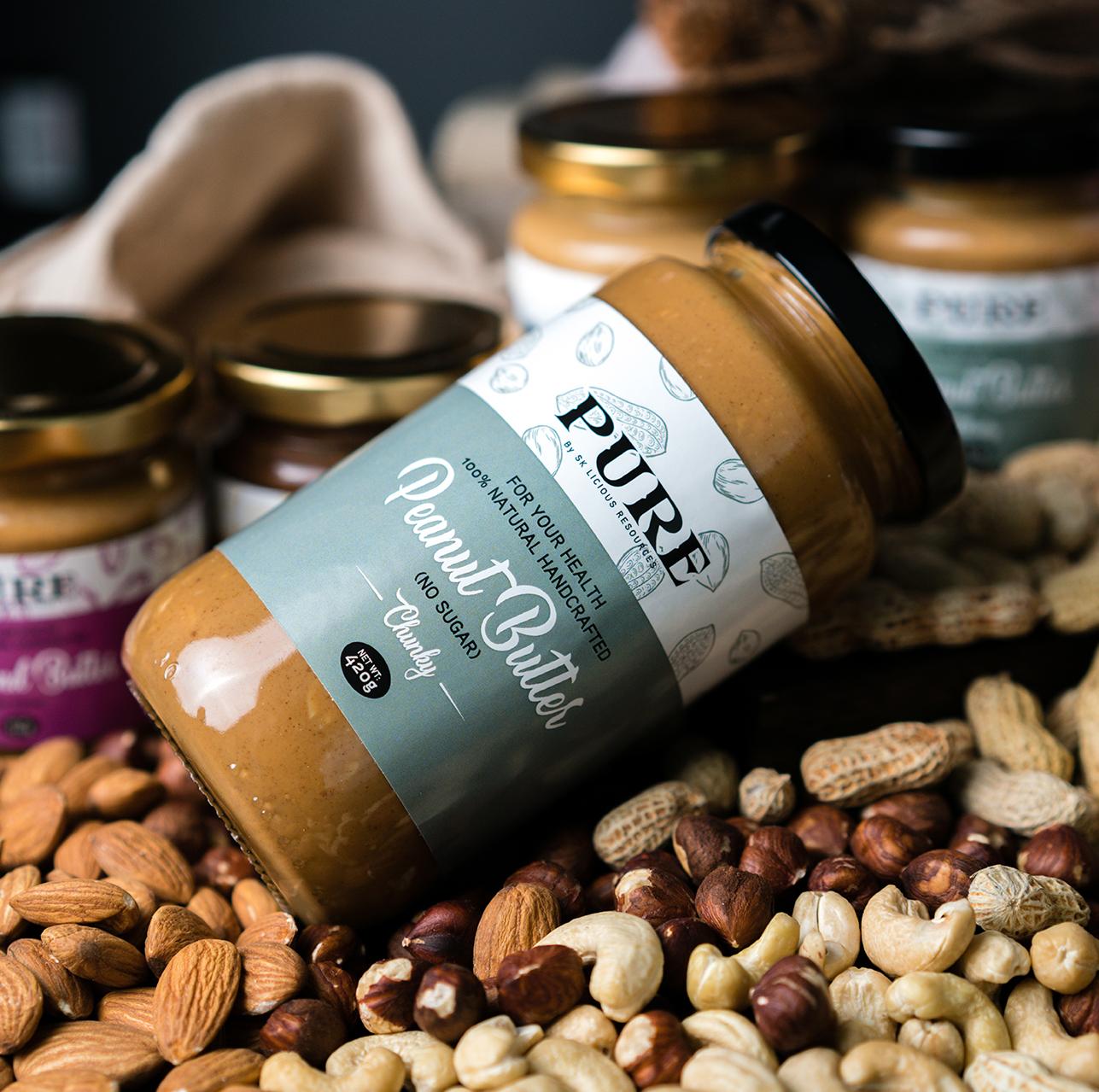PURE Nut Spreads |  - NO SUGAR