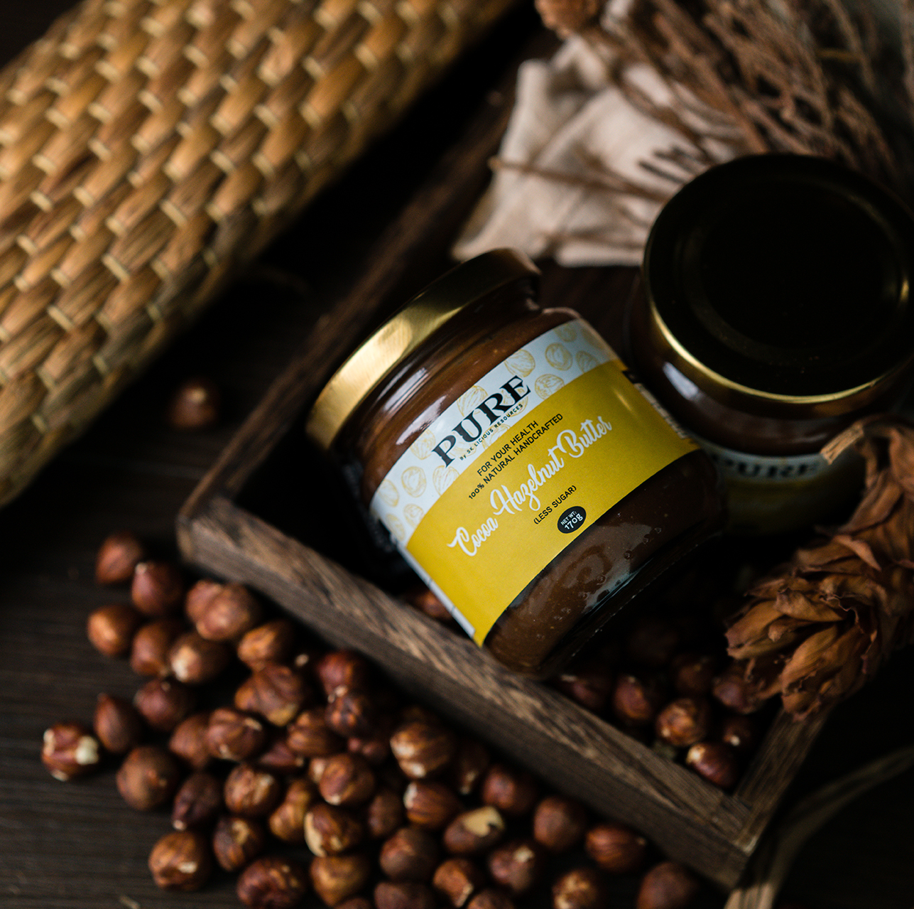 PURE Nut Spreads |  - LESS SUGAR