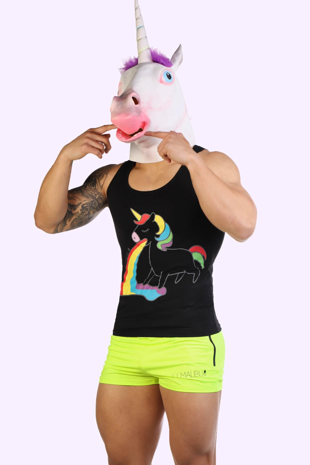 Unicorn Tank Top - Black.jpg