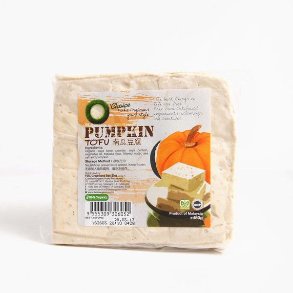 O'Choice-Pumpkin Tofu (Frozen) (450g) *(Outstation N/A; 外州送不到)