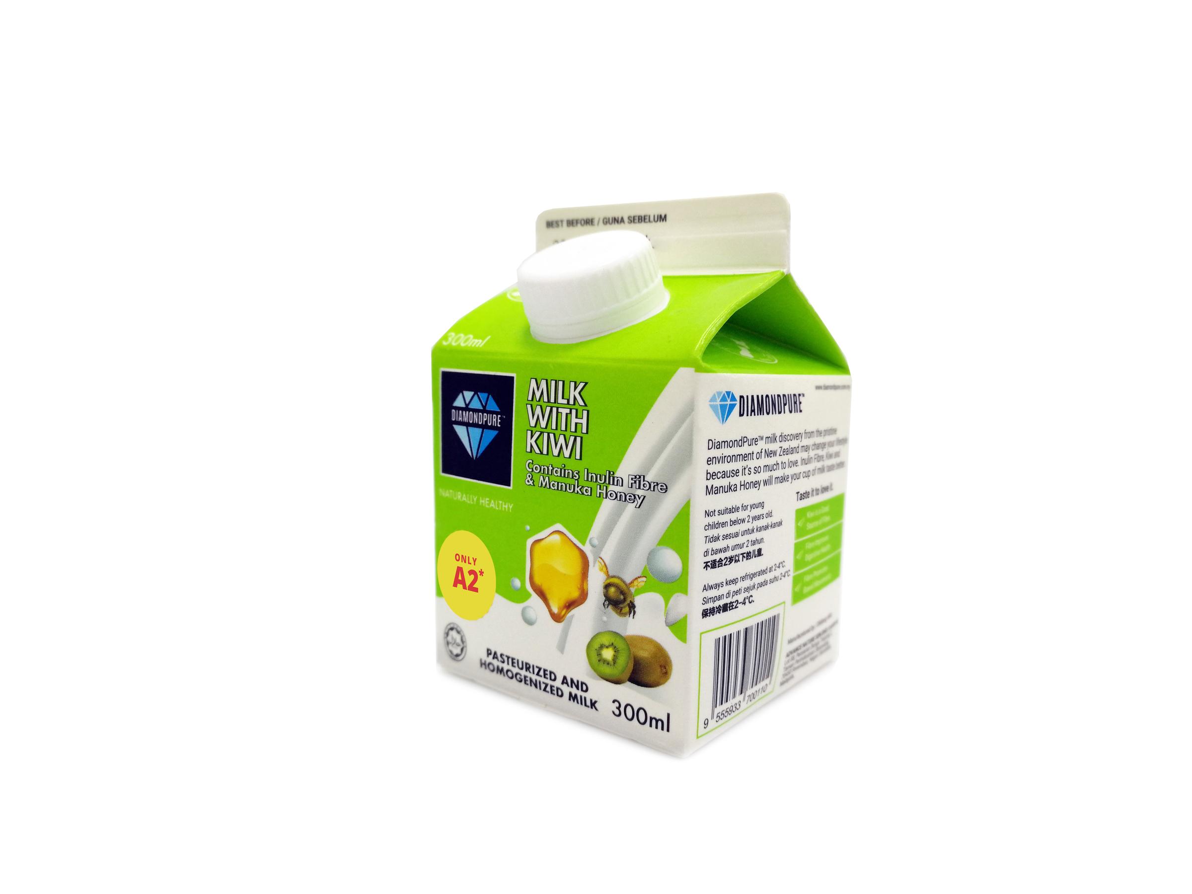 Diamond Pure-Milk With Kiwi & Manuka Honey (300ml) *(Outstation N/A; 外州送不到)