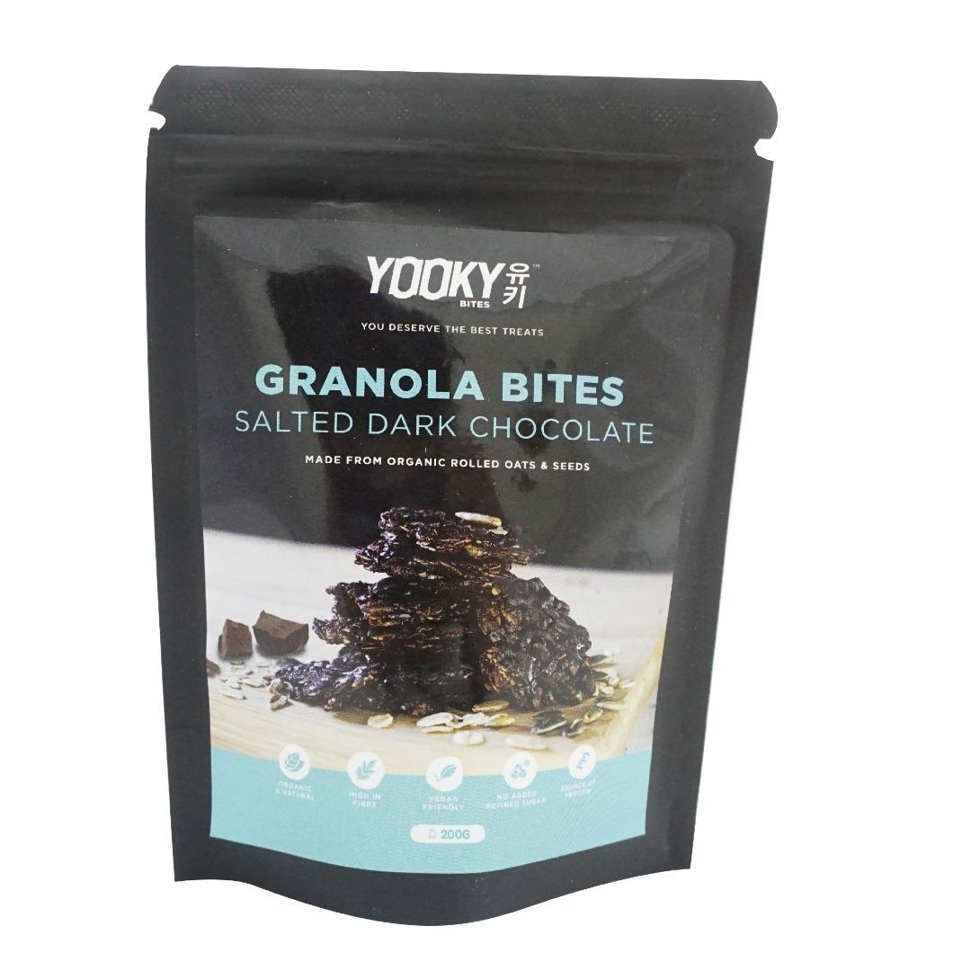 Yooky Bites-Salted Dark Chocolate Granola Bites (200g)