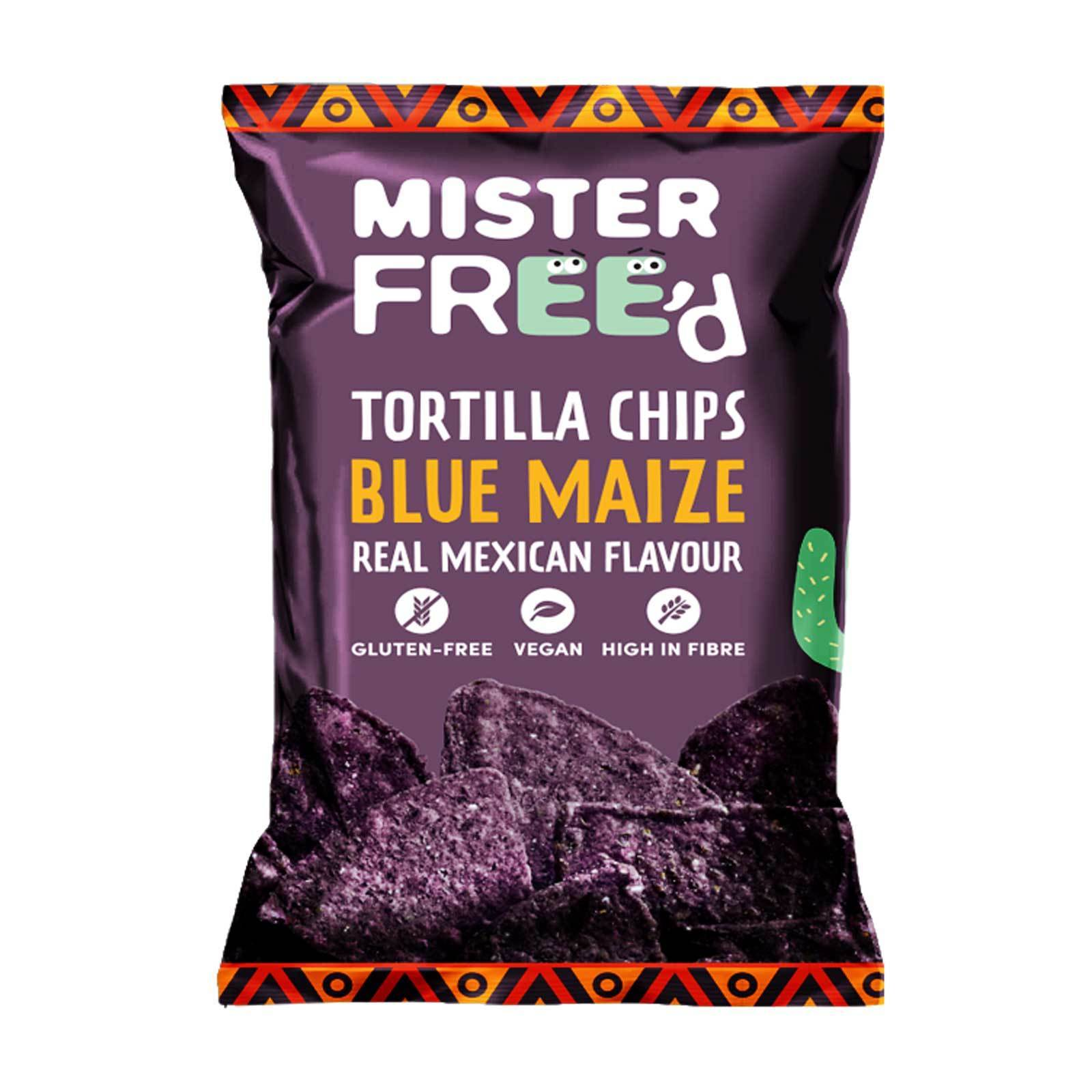 Mister Freed-Tortilla Chips Blue Maize Real Mexican Flavour (135g)