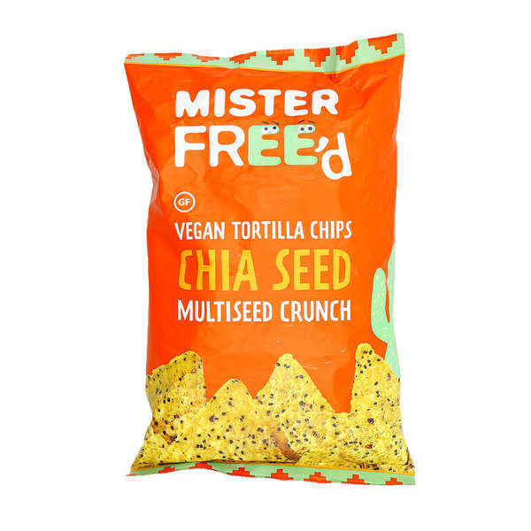 Mister Freed-Tortilla Chips Chia Seed Multiseed Crunch (135g)