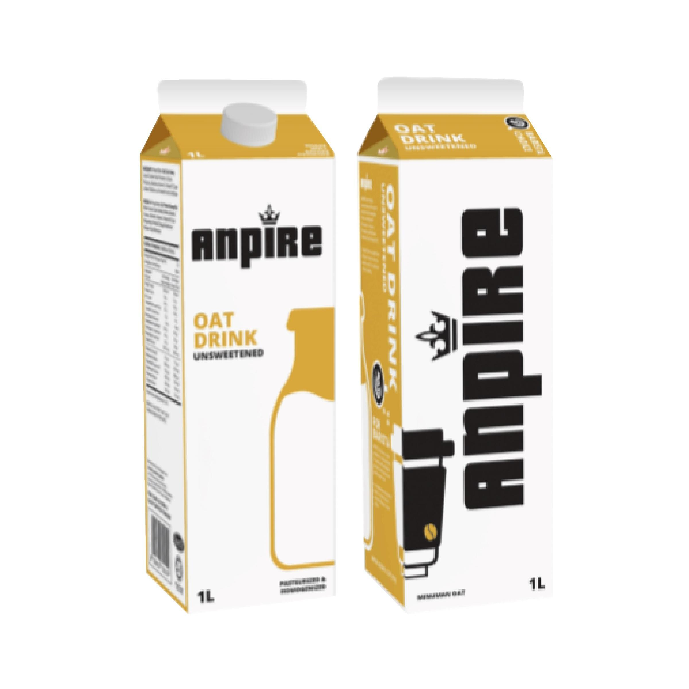 Anpire-Dairy Free Unsweetened Oat Drink (1L) *(Outstation N/A; 外州送不到)