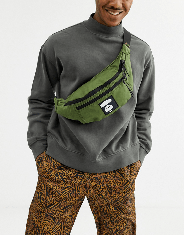 aape-by-a-bathing-ape-bum-bag-with-branded-strap-in-khaki-green-asos-photo.png