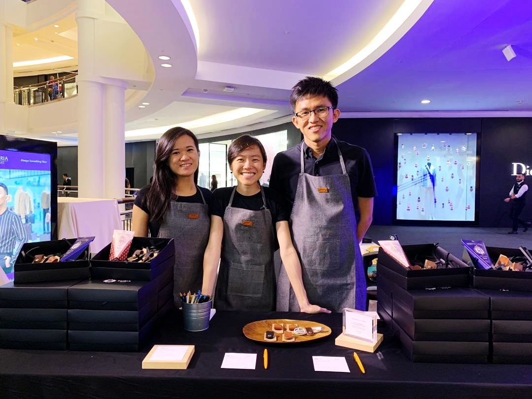 Corporate Event Leather Personalisation KLCC