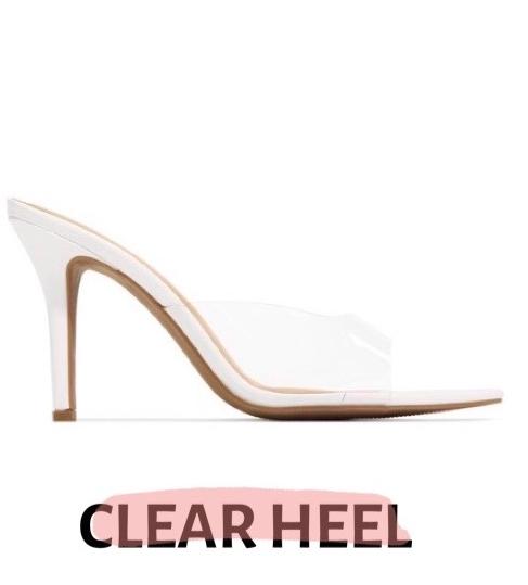 clear heel