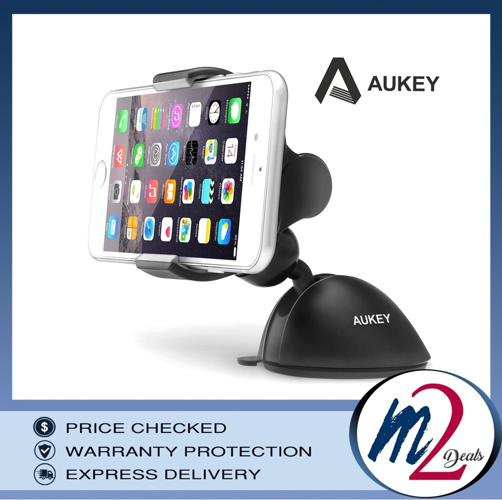 AUKEY Universal Dashboard Windshield Car Mount_BK.jpg