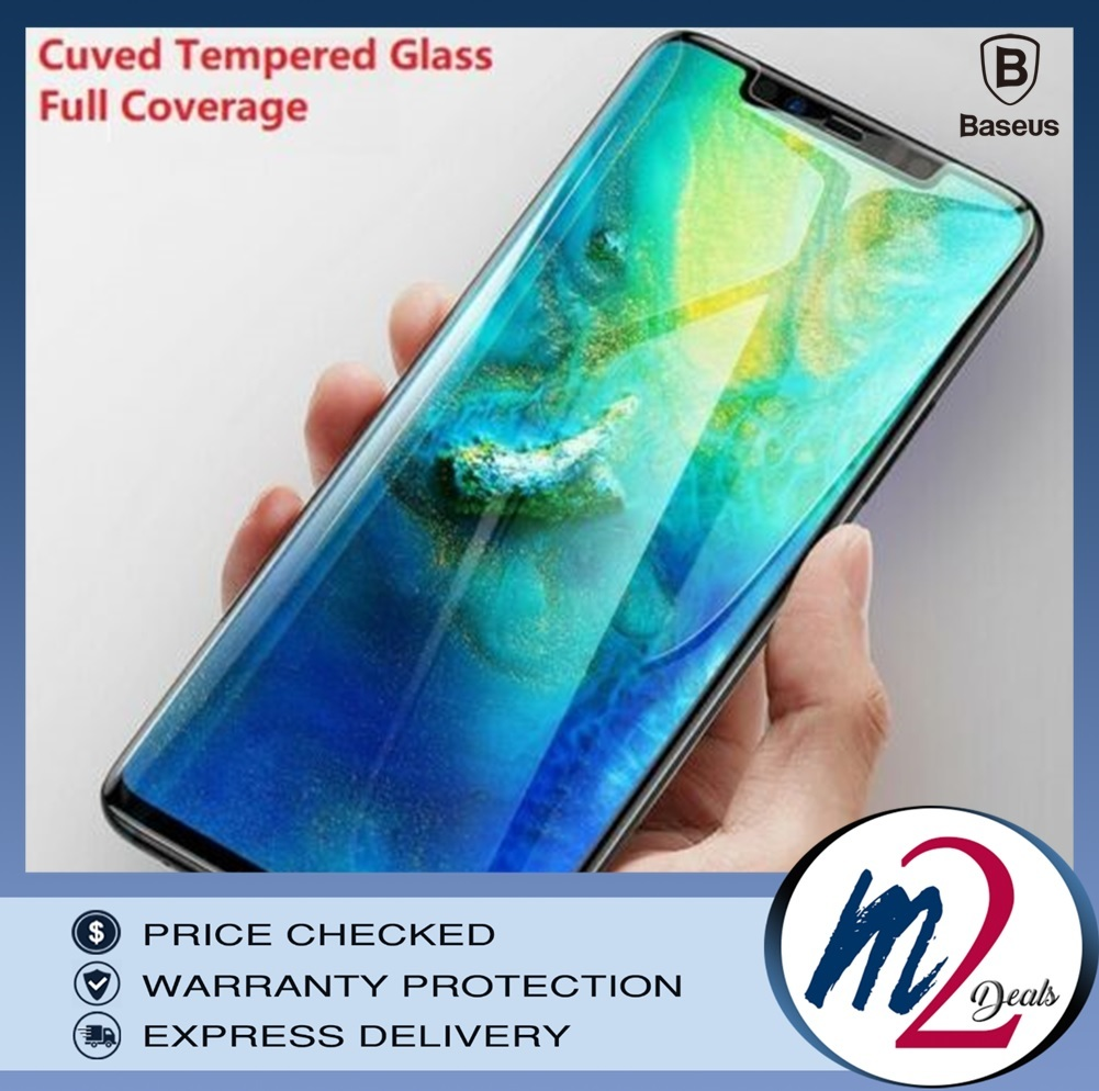 Baseus Huawei Mate20 Pro 0.15mm Full Cover Curve anti-explosion, soft Black screen protector_bk_1.jpg