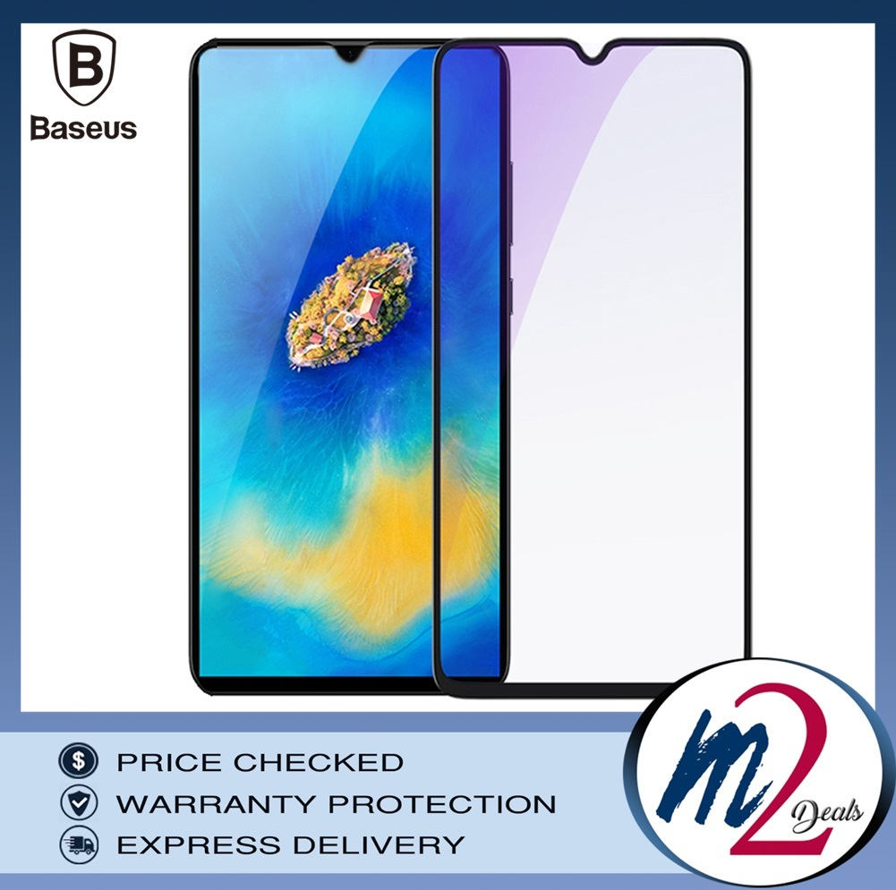 Baseus Huawei Mate20 X 0.3mm Anti-bluelight Full Cover Curve  Black Tempered Glass_16.jpg