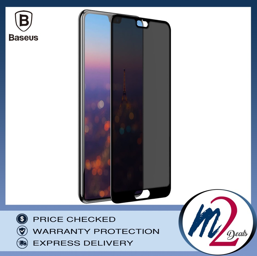 Baseus Huawei P20 0.3mm Privacy Full Cover Curve Anti-spy Black tempered glass_.jpg