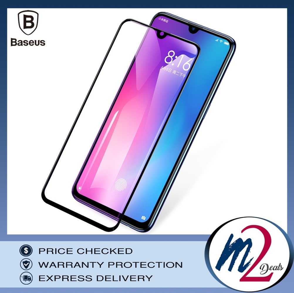 Baseus Xiaomi Mi 9 0.3mm Anti-bluelight Full Cover Curve Black Tempered Glass_16.jpg