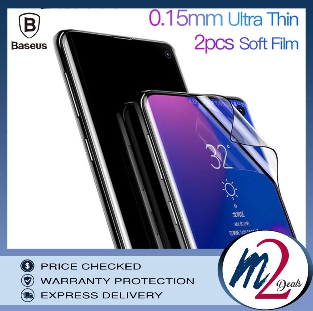 Baseus Samsung S10 N S10P 0.15mm full-screen curved anti-explosion Black soft screen protector1.jpg