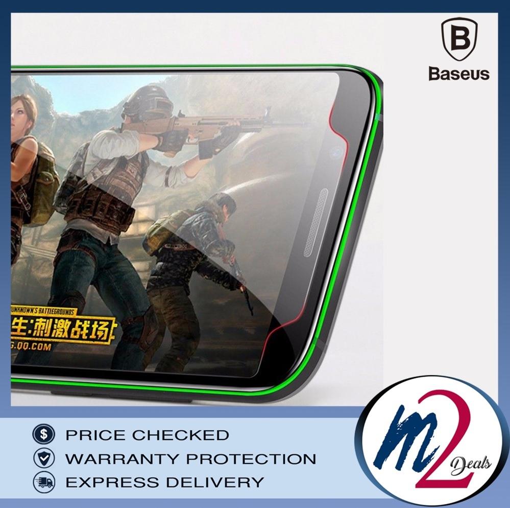 BASEUS 2Pcs 0.3mm Patented Tempered Glass Screen Protectors for Black Shark - Transparent_17.jpg