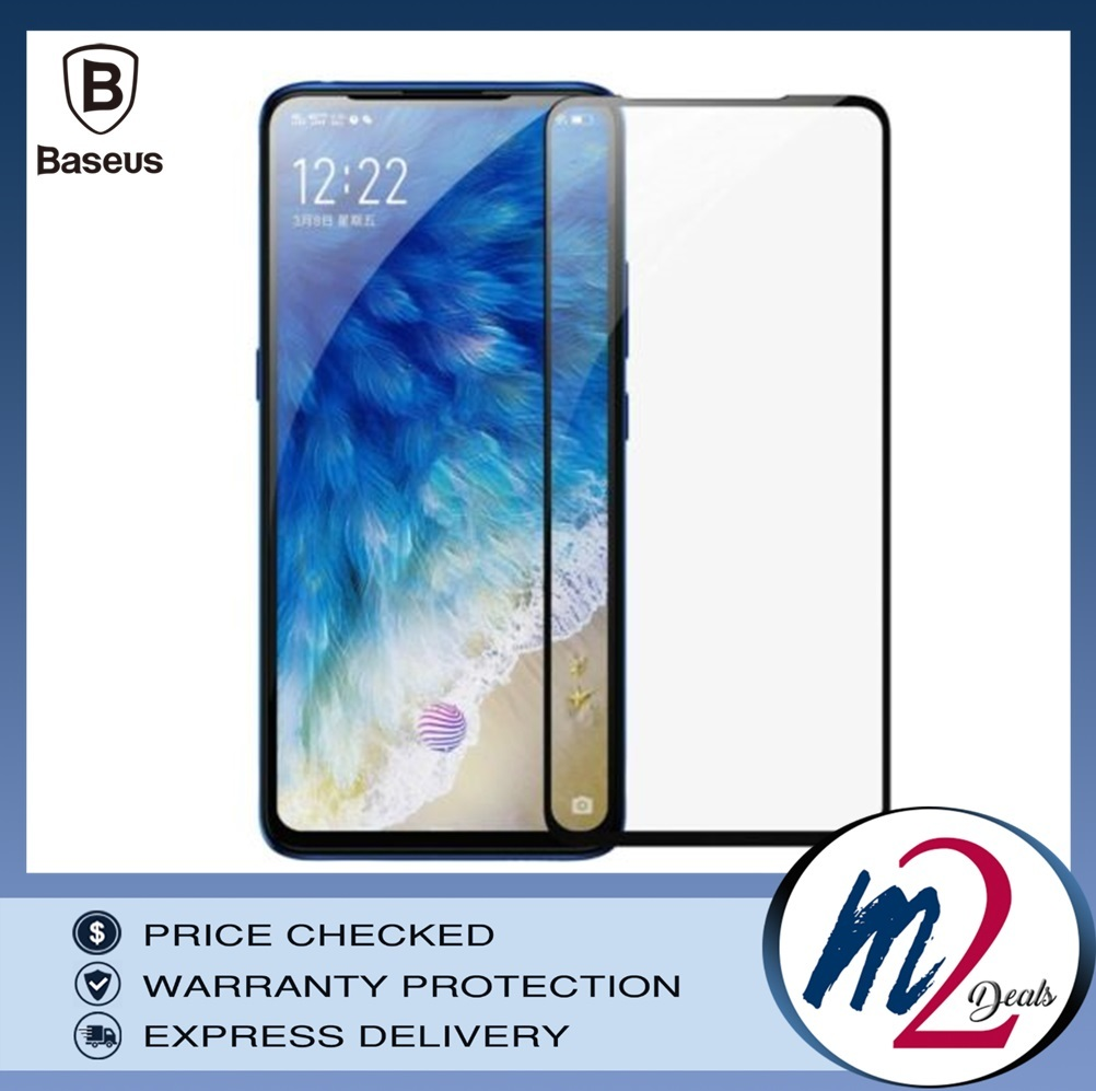 Baseus 0.3mm Curved-screen Tempered Glass Screen Protector for Vivo x27 Black_16.jpg