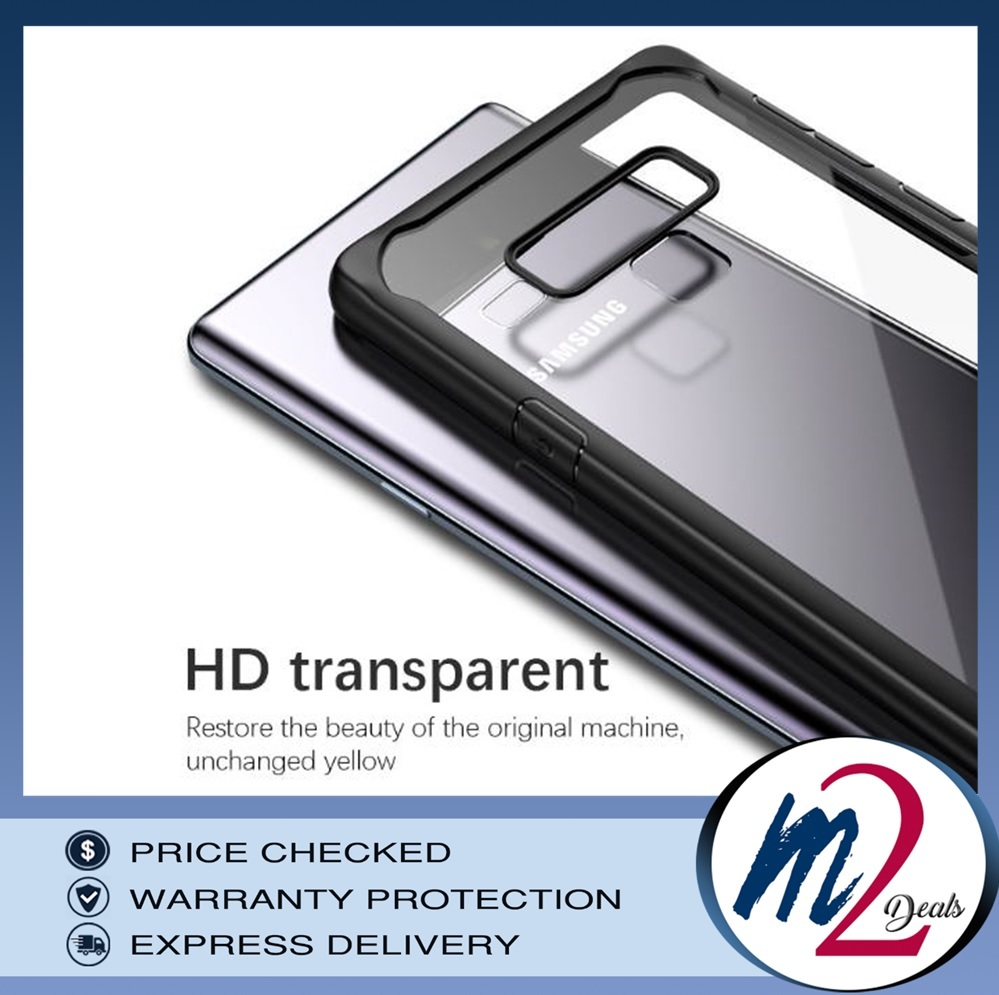 VISEON CLEAR ACRYLIC PROTECTIVE BACK COVER CASE_SAMSUNG note 9_10.jpg