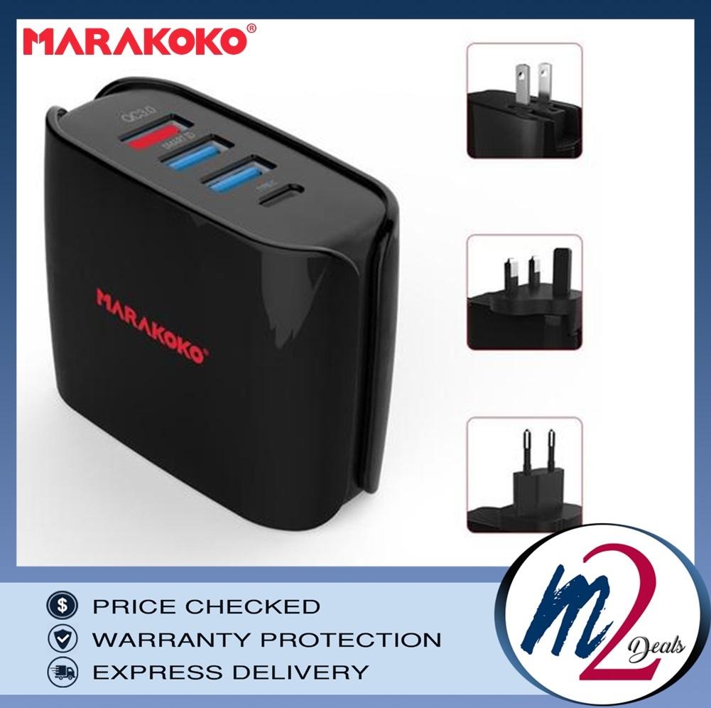 30W MARAKOKO MA11 MULTI- USB PORT FAST TRAVEL CHARGER_15.jpg