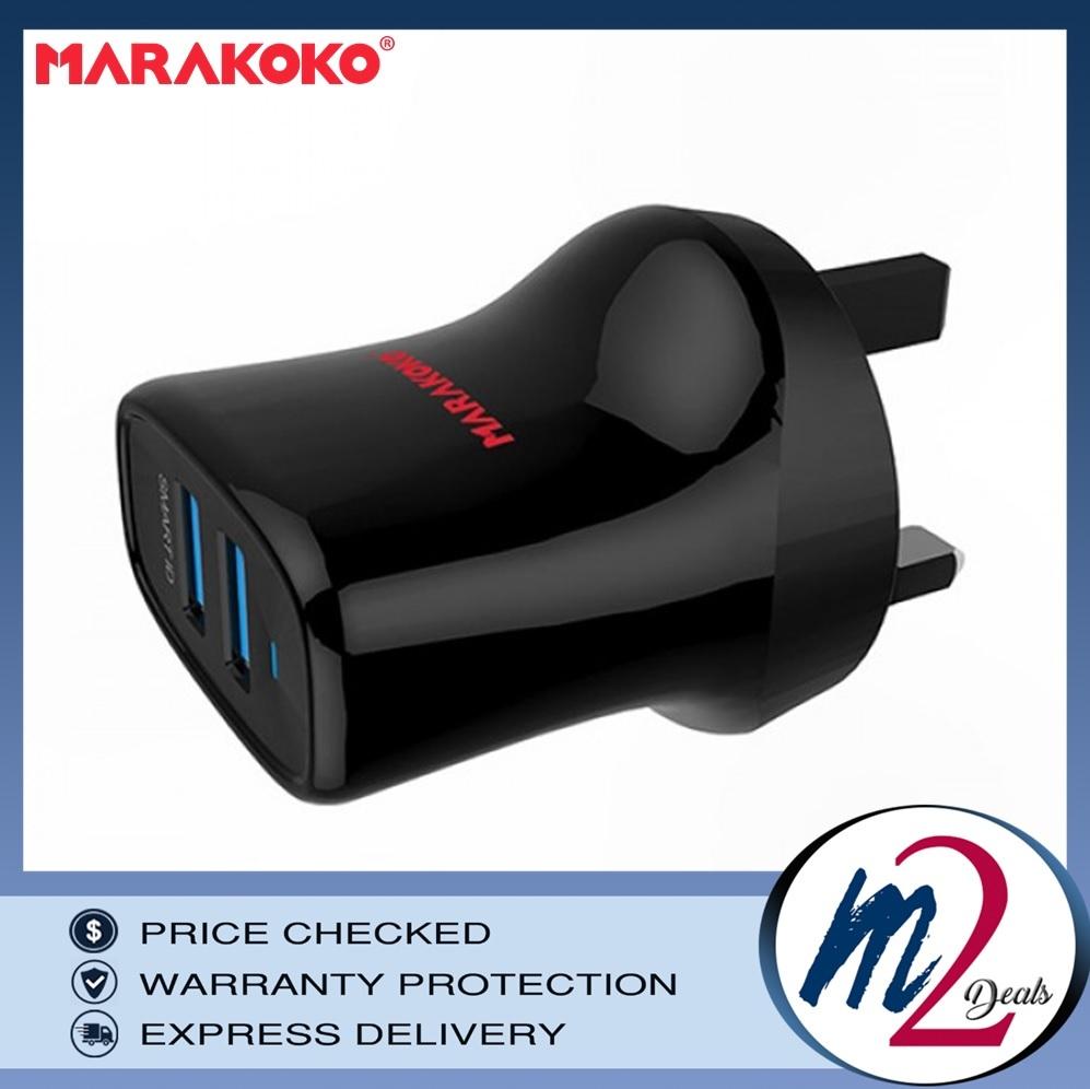 MARAKOKO 12W DUAL PORT SMART WALL CHARGER (2.4A) LIGHTNING CABLE - MA12_6.jpg
