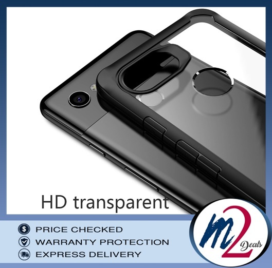 m2deals.my_VISEON CLEAR ACRYLIC PROTECTIVE BACK COVER CASE_GOOGLE PIXEL 3.jpg