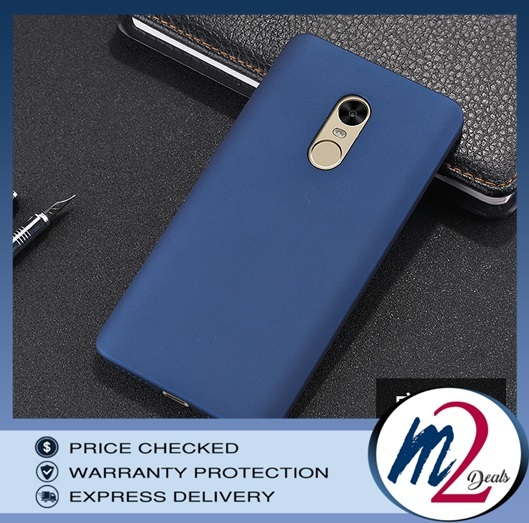 m2deals.my_frosted hard back cover casing_xiaomi note 4x_red.jpg