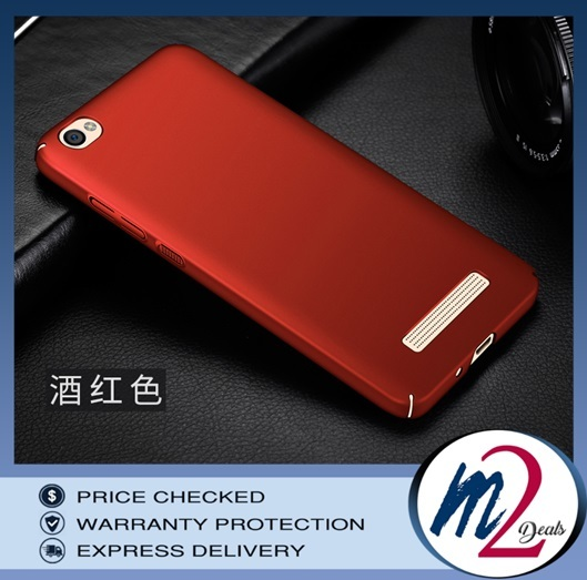 m2deals.my_frosted hard back cover casing_xiaomi redmi 4A_red_1.jpg