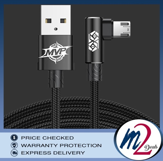 Baseus MVP Elbow Type Gaming Cable USB For MicroUSB 2A 1M_1black.jpg