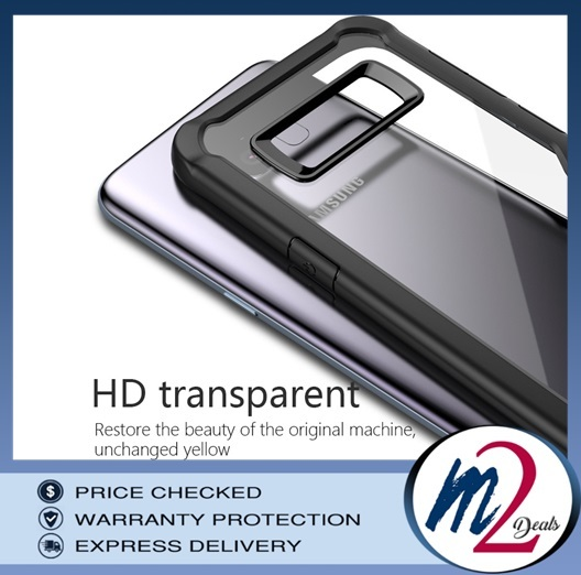 m2deals.my_VISEON CLEAR ACRYLIC PROTECTIVE BACK COVER CASE_SAMSUNG note 8.jpg