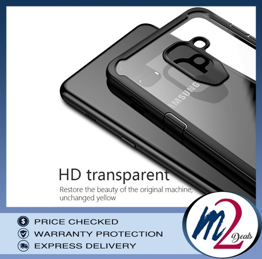 m2deals.my_VISEON CLEAR ACRYLIC PROTECTIVE BACK COVER CASE_SAMSUNG A8 PLUS.jpg