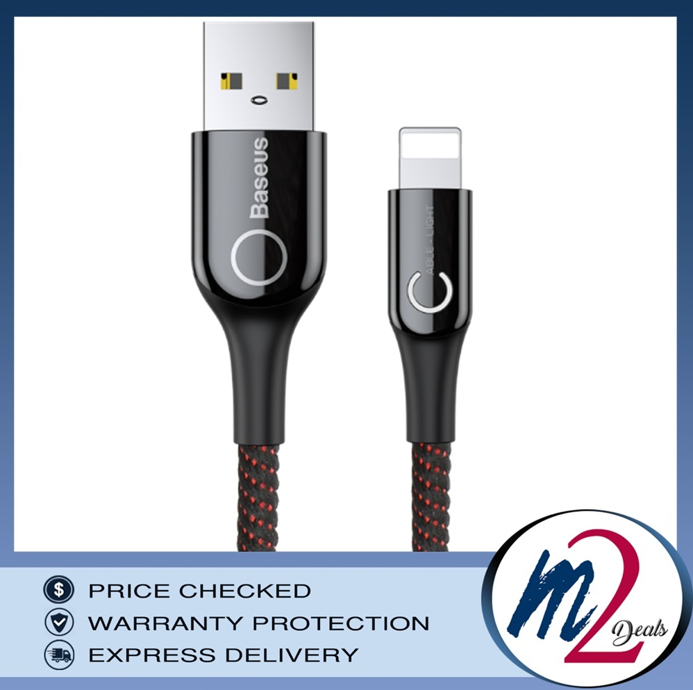 C-shaped Light Intelligent power-off Cable USB Lightning  1M_BK.jpg