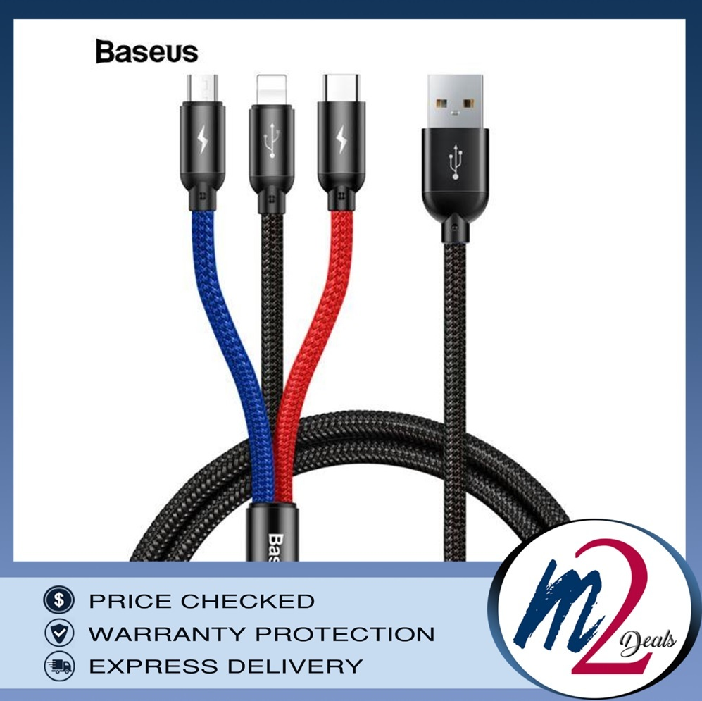 Three Primary Colors 3-in-1 Cable USB For M+L+T 3.5A 1.2M_1BK.jpg