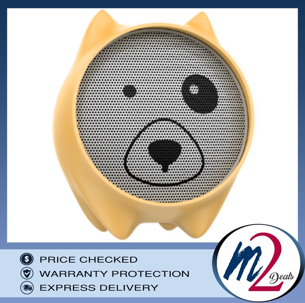 Baseus Dogz Wireless speaker (E06)YELLOW.jpg